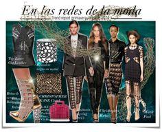 """Audaz y divertida, la nueva tendencia que nos proponen las casas de moda son básicamente transparencias """"see through"""". Elegantes vestidos y faldas creadas con tejidos de mallas y urdimbres que imitan las redes de un pescador."""