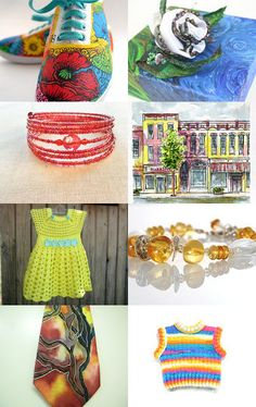 Bright Favorites by midnightcoiler on Etsy--Pinned with TreasuryPin.com