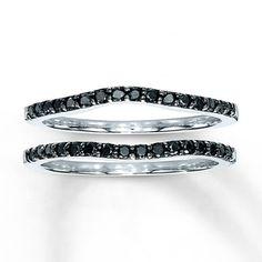Diamond Wedding Bands 1/3 ct tw Round-Cut 14K White Gold