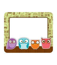 Owls Nametag