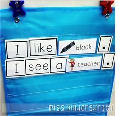 Miss Kindergarten: building sentences