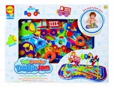 Alex Rub a Dub Tub Coasters - Traffic Jam by Alex. $10.64. From the Manufacturer                Floating island with loop-de-loop wire and bead maze.  14 pieces.  Easy assembly.  Phthalate free.  Ages 2+.                                    Product Description                Floating Islands with loop-de-loop wire and bead maze. 14 pieces. Easy assembly!