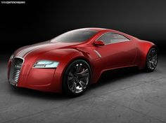 Red Audi R-0