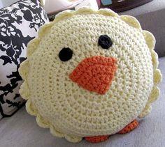 ... Los a d o r a b l e s Almohadones Love Crochet son ideales para los más chiquitos ! Dulces y originales almohadones tejidos a croc...