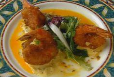 Yuca-stuffed Shrimp with a Sour Orange Mojo and Scotch Bonnet Tartar Salsa by Norman Van Aken