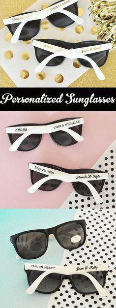 61fa064864fd Beach Theme Wedding Favors Beach Theme Bridal Shower Favors Personalized Sunglasses  Sunglass Favors - SET of 24 Sunglasses