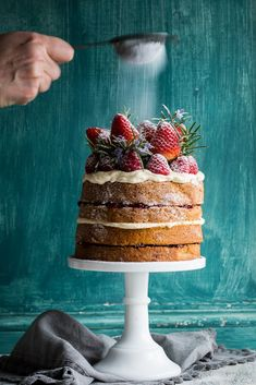 Buckwheat Cake with Berry Compote & Love, Aimee x Giveaway | Cygnet Kitchen