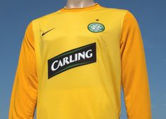 Celtic FC Home Goalkeeper Shirt Season 2009-2010 Replica Issue Goalkeeper  Shirts 8f211223c