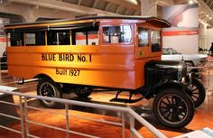 1927 Ford Model TT Blue Bird School Bus