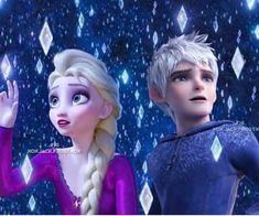 Jelsa, Jack Frost Und Elsa, Jack And Elsa, Sailor Princess, Disney Princess, Modern Disney Characters, Cant Help Falling In Love, Girly Drawings, Disney Couples