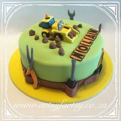 Construction Cake #constructioncake Construction Cakes, Motorbike Cake, Cupcake Cakes, Cupcakes, Cakes For Boys, Truck, Car, Desserts, Food