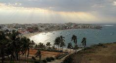 The beautiful City of Dakar, Senegal