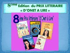 8ème edition  du prix litteraire d'Onet à lire
