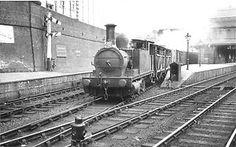 A photograph oftheNorth London Railway station at Bow, ca. 1926