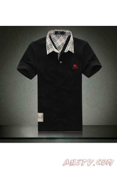 Hommes s Burberry Noir Shirts mshirt097. Polo tee shirtsBurberry OutletBlack  shirtsPolo Ralph LaurenRoof ... 3b58d78eeef