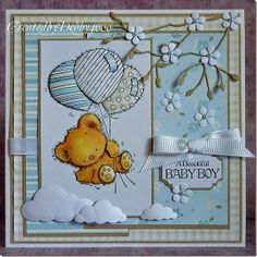 Debby 2 - April - Patchwork Bunch Of Balloons
