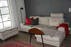 Tunnelmia: Talvitunnelma olohuoneessa #winter #feeling #livingroom