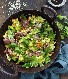 Asian Recipes, Healthy Recipes, Ethnic Recipes, Poke Bowl, Light Recipes, Wok, Paleo, Cooking Recipes, Dinner