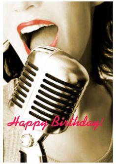 Happy Birthday Singer