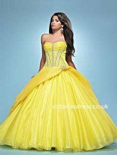 Ball Gown Sweetheart Sleeveless Ball Gowns With Beaded