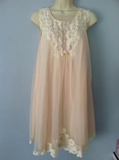 1960's Baby Doll night gown by Shadowline