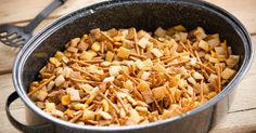 Get The Party Started With This Easy-Peasy Slow-Cooker Homemade Chex Mix