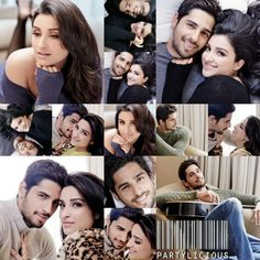 Sidharth Malhotra & Parineeti Chopra for Filmfare magazine