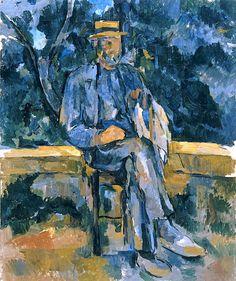 Paul Cézanne / Portrait of a Peasant, 1905-6