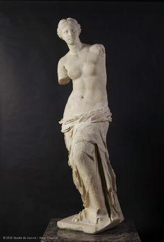 Venus de Milo in the Louvre in Paris