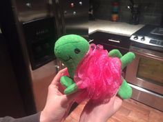 Told my girlfriend to pick me up the manliest-looking loofa she could find at the store. She got me this.