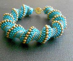 bead bracelet by beadnurse on Etsy, $45.00