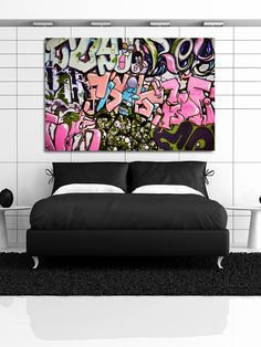 Graffiti Spaghetti Pink - Gilt Home