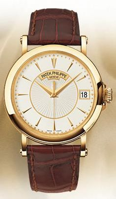 A Patek Philippe Calatrava watch. Even better than the IWC Schaffhausen, in my opinion.