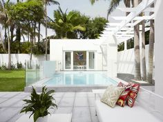 #pool  Interior Design: Greg Natale - gregnatale.com/ Photography: Anson Smart - ansonsmart.com  Read More: http://stylemepretty.com/2013/03/06/greg-natale-home-tour/