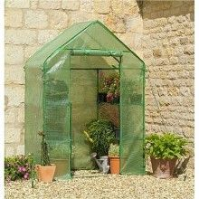Popup greenhouse!! Includes shelving! So awesome! If only I needed one.. $79.95