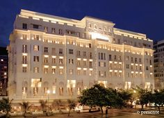 The classic architecture of the Copacabana Palace. #interior #design #decor #casadevalentina