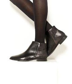 Boots femme plates