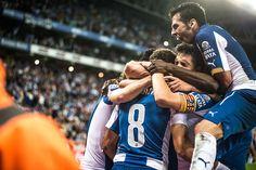 Stuani Scores RCD ESPANYOL · POWER8 STADIUM