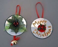 1000 images about homemade ornaments cds on pinterest for Waste cd craft ideas