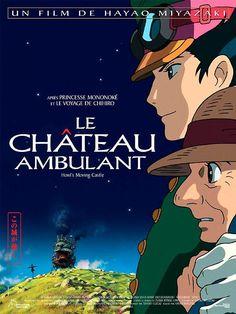 Le Château Ambulant / Hauru no ugoku shiro - film d'animation d'Hayao Miyazaki, studio Ghibli, Film Manga, Film Anime, Comic Manga, Top Film, Film D'animation, Film Movie, Howl's Moving Castle, Hayao Miyazaki, Studio Ghibli Films