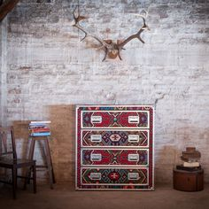 'Chilim' chest of drawers by Mirko Di Matteo Designs