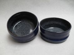 """Small Dog Bowls/ Cat Water Bowls, 5""""diameter and 2 1/2 to 3"""" tall -Cosmos"""