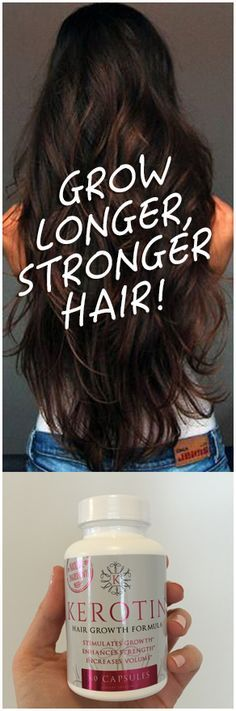 I will never need to buy anything else because this has improved the quality of my hair and has helped it grow thicker and faster than ever. No more breakage and my hair is growing like crazy. I also have baby hair growing from my scalp! I ordered 3 bottles. A great value in more ways than one. Click Here -> https://kerotin.com/pages/the-secret-to-longer-stronger-hair?utm_source=Pinterest&utm_medium=cpc&utm_campaign=FBPage&utm_term=OriginalTerms&utm_content=BrunetteStackWithSarahBottle