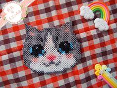 Cat magnet perler beads