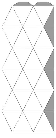 Flextangle Template Homeschool Math Pinterest Template - hexaflexagon template