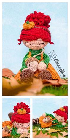 Amigurumi Pink Little Layd Free Pattern – Amigurumi Free Patterns And Tutorials Amigurumi Patterns, Amigurumi Doll, Crochet Dolls, Crochet Hats, 4 Ply Yarn, Mohair Yarn, Hello Dear, Needle And Thread, Tricot