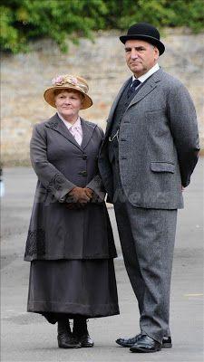 Downton Abbey Addicts: New Photos: Downton Abbey Season 4 Cast Filming in Bampton