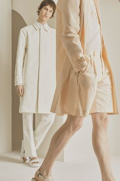 Capturing the DNA of the brand, QASIMI creates a minimalist tone combining themes of architecture and military aesthetics. Outerwear silhouettes of bomber jackets, car coats, and parkas created with bonded cottons and technical fabrics are inspired by Traditional Middle... »