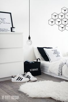 Black And White Interior Bedroom