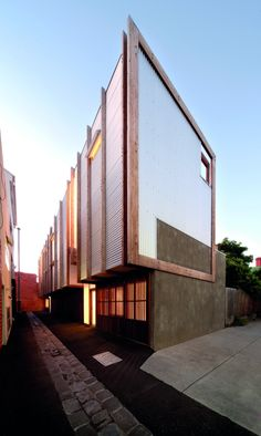 yan lane houses - victoria - justin mallia - 2010